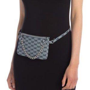 Michael Kors Pull Chain Gray Belt Bag Fanny Pack